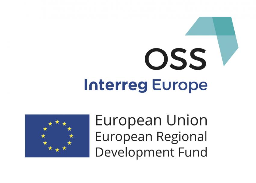 Bilde av ein logo for OSS Interregg Europa.