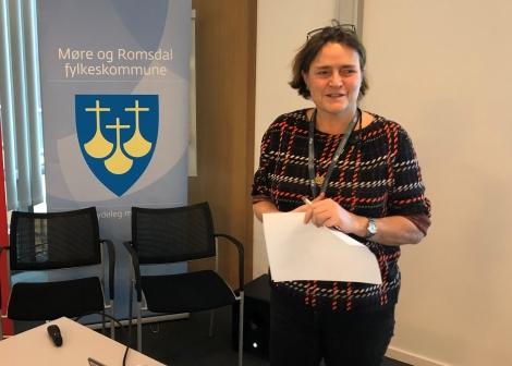 May-Britt Roald, rådgivar Møre og Romsdal fylkeskommune