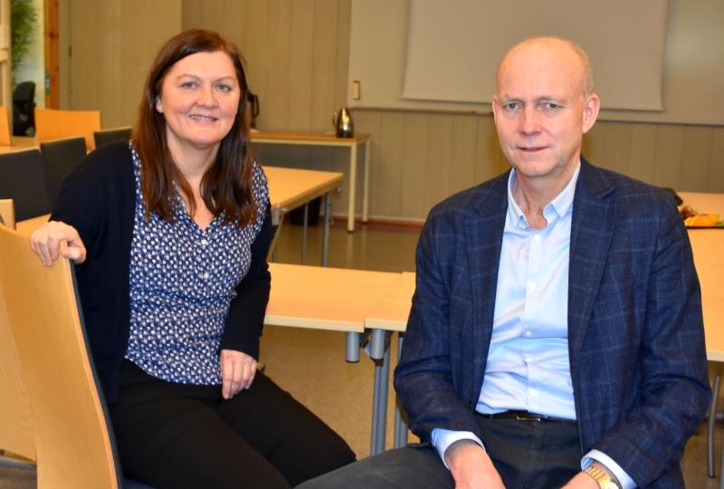 Anna Marie Hatlestad og Øyvind Herse