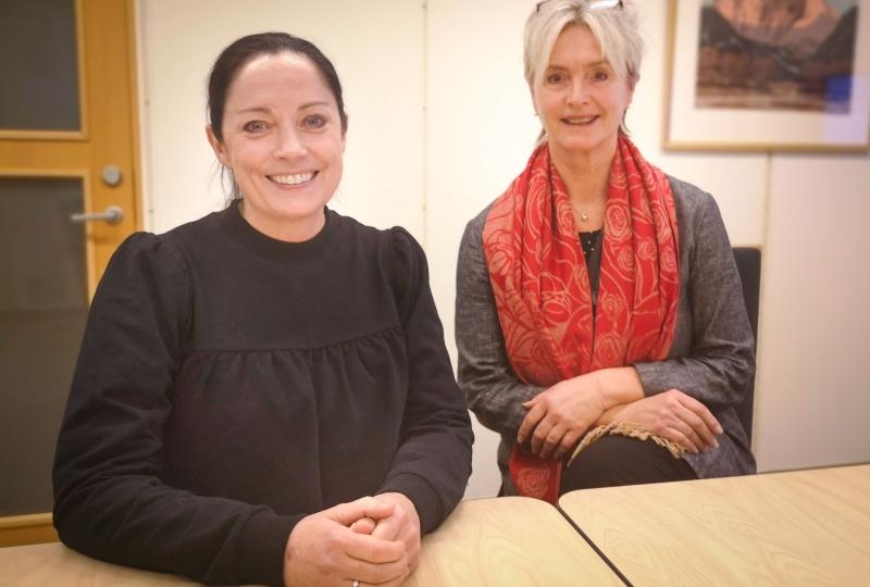Bilde av statsforvaltar Else-May Norderhus og fylkesordførar Tove-Lise Torve.