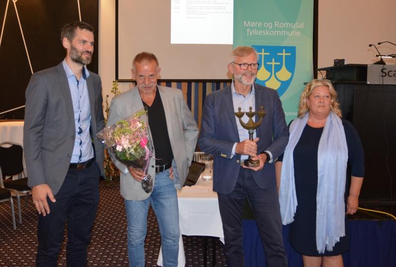 Bilde av Pipelife Norge AS, som vart kåra til årets bedrift i 2019